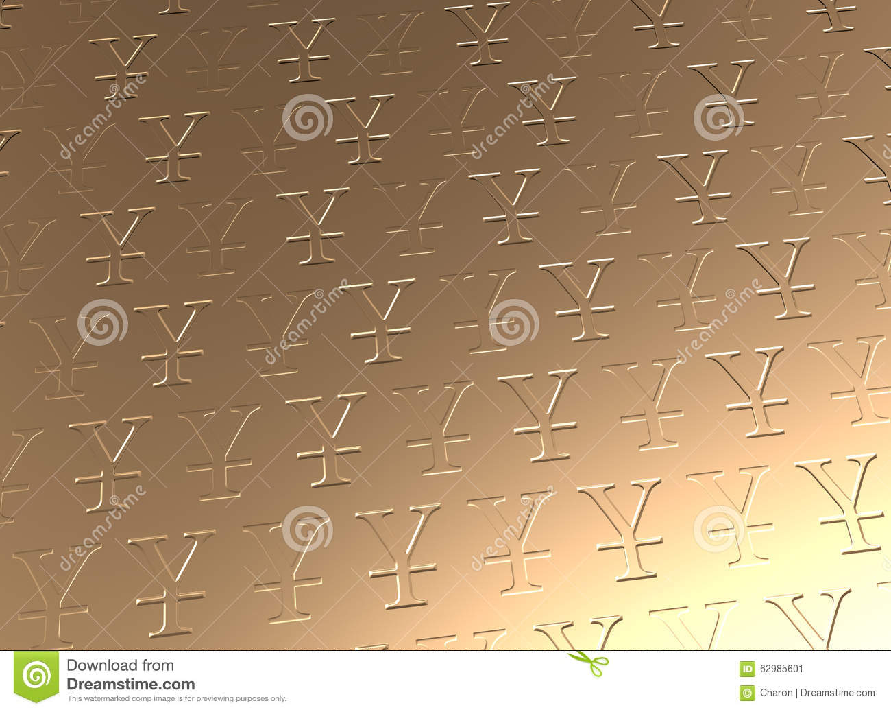 Chinese yuen currency golden texture stock illustration chinese yuen currency golden texture biocorpaavc Gallery