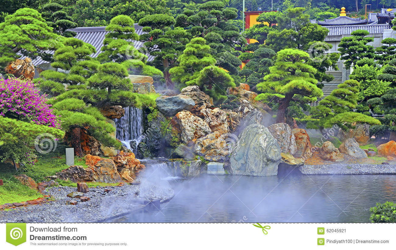 Chinese zen garden stock photo image 62045921 for Jardin chinois 78