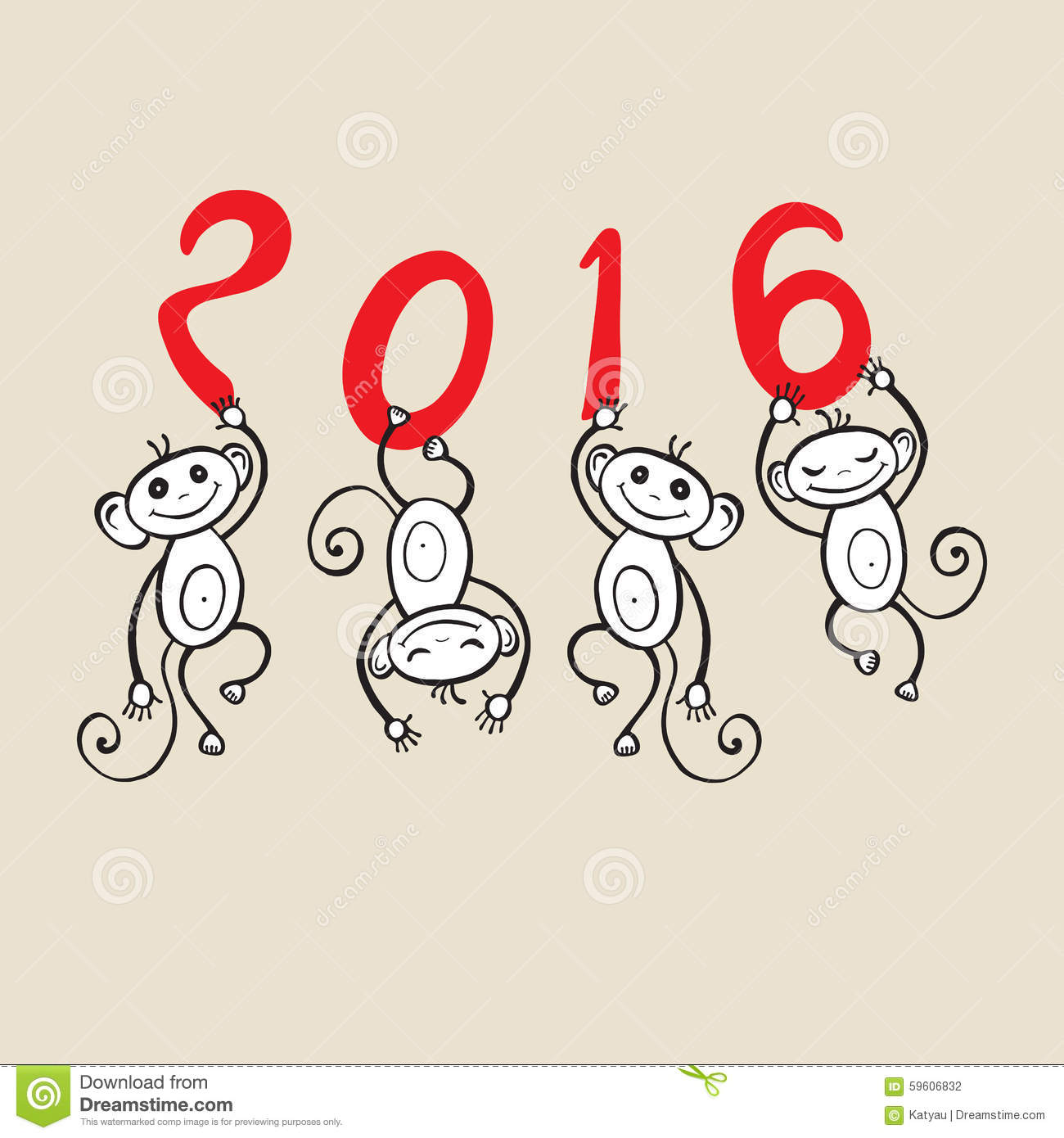 chinese zodiac monkey - Chinese New Year 2016 Animal