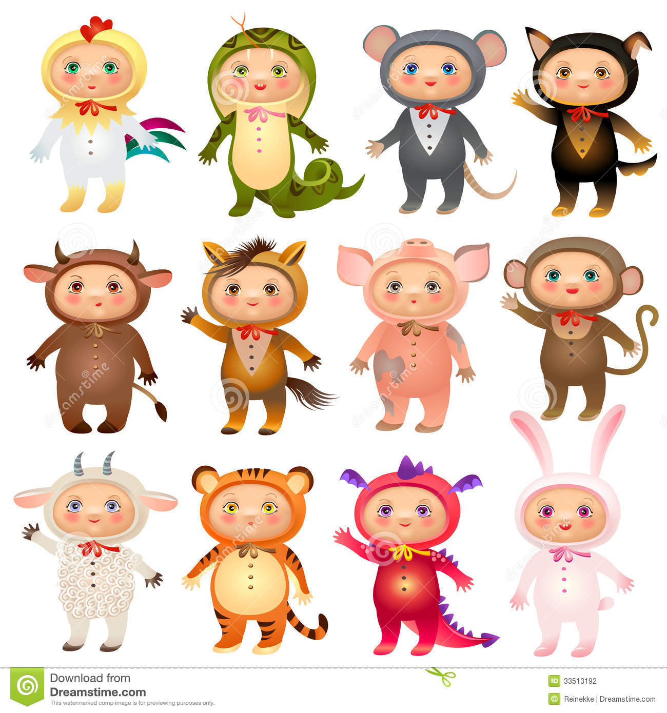 Chinese Zodiac Stock Photography - Image: 33513192
