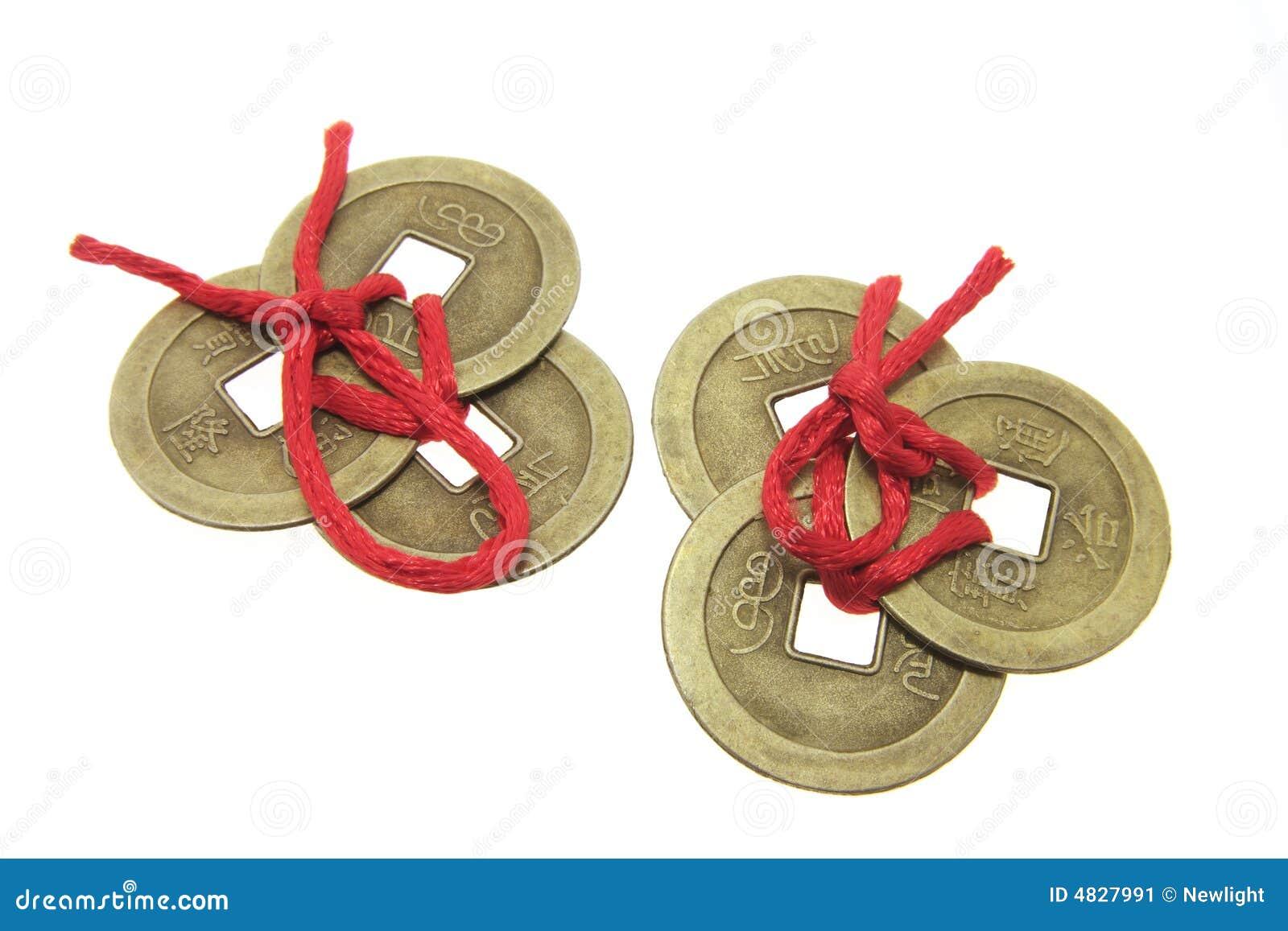 Chinesische alte Münzen