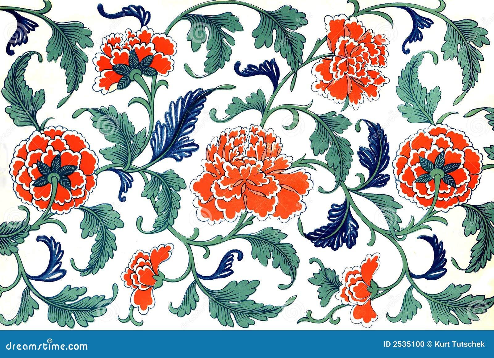 Chinesische Blumen