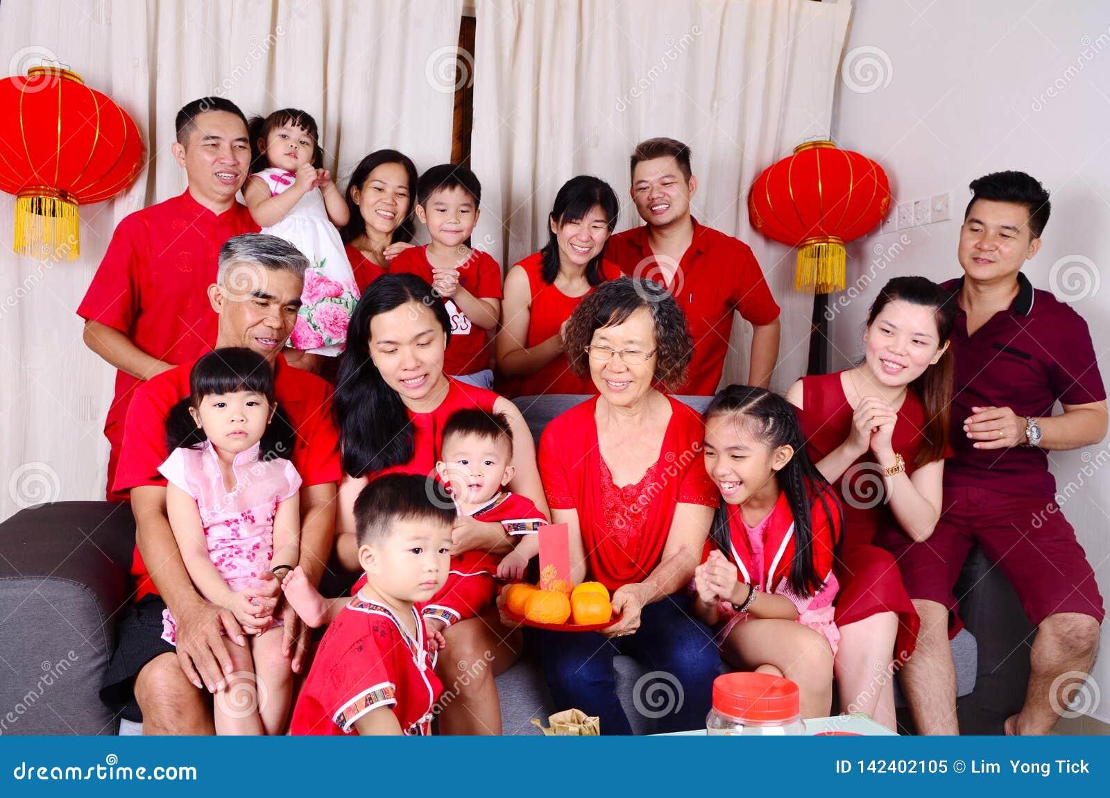 Chinesische Festivaljahreszeit des neuen Jahres
