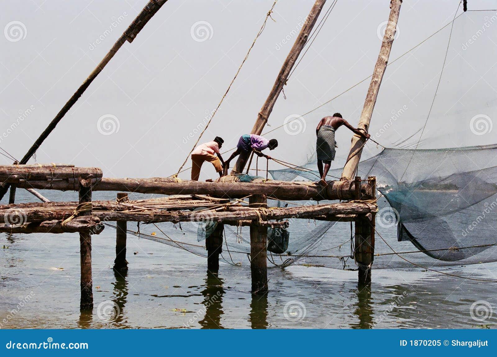 Chinesische Fischernetze, #2