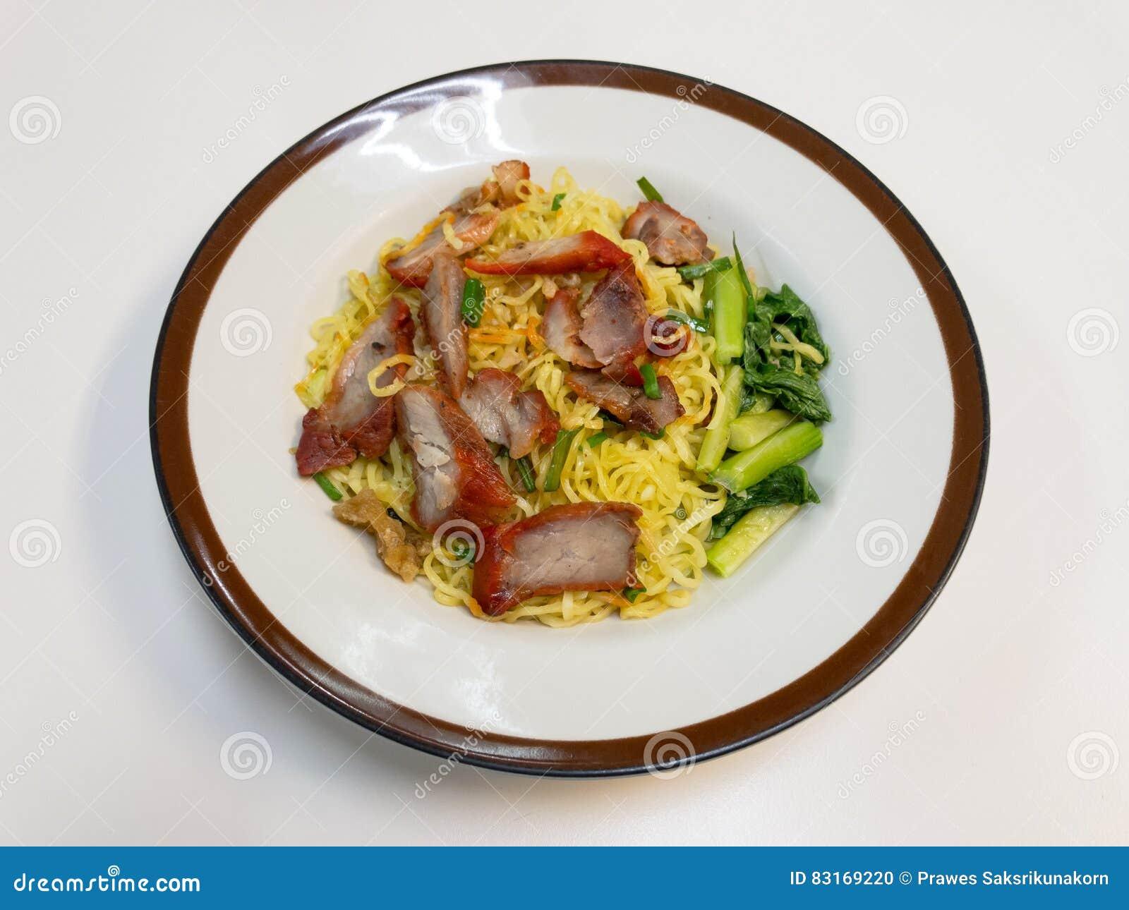 Kantonesische Küche | Chinesische Nudeln Eine Chinesische Kuche Des Kantonesisch Dienten