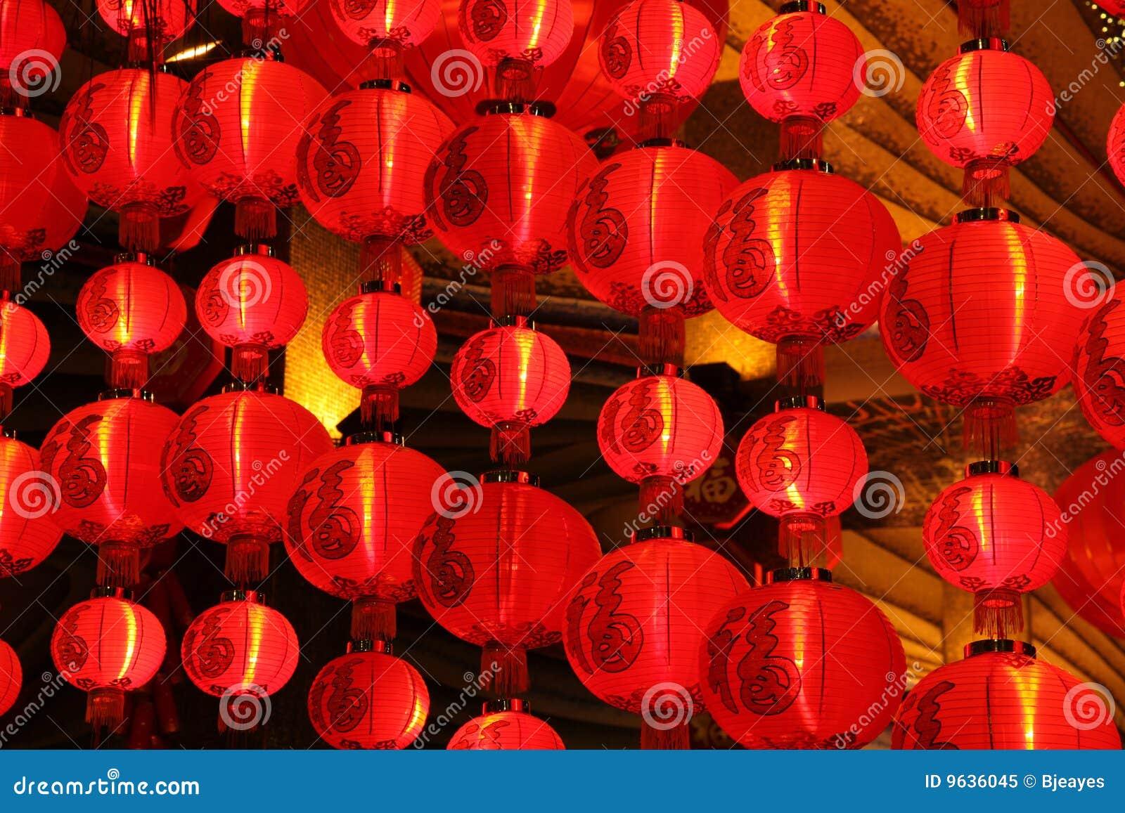 chinesische rote laternen macau stockbild bild von hell verzierung 9636045. Black Bedroom Furniture Sets. Home Design Ideas