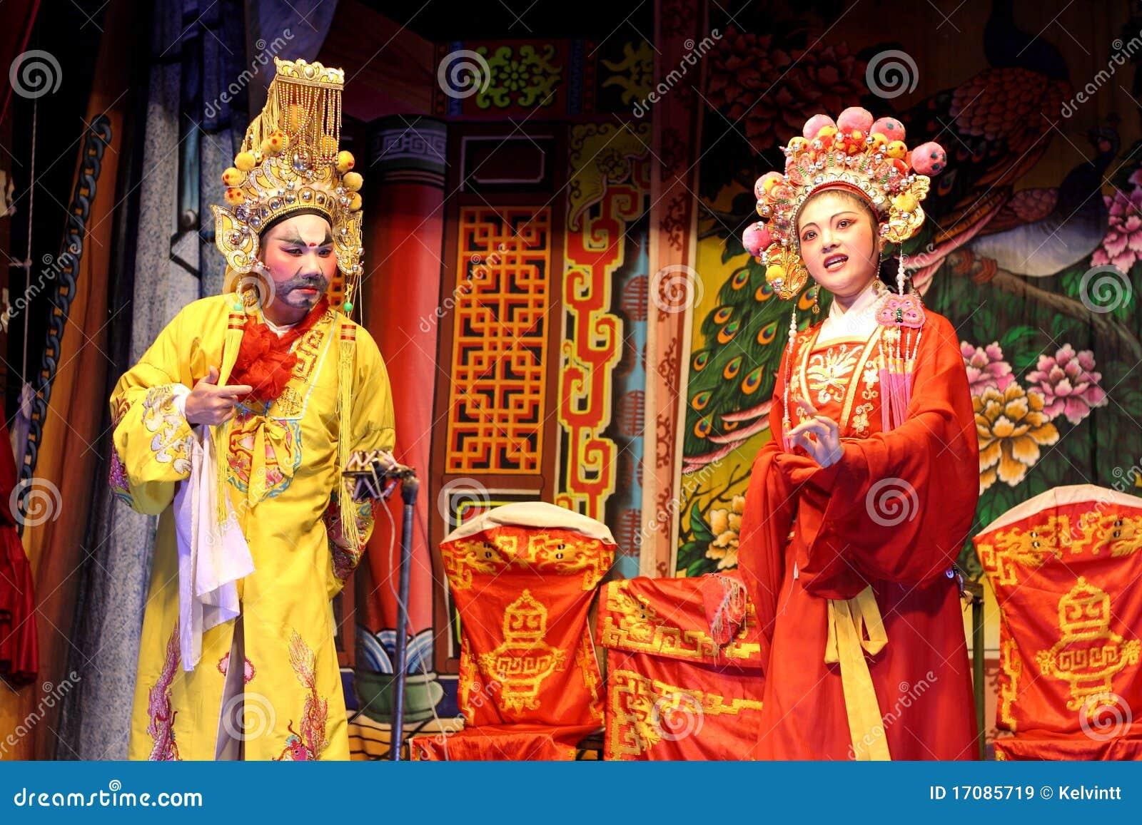 Chinesische traditionelle Oper