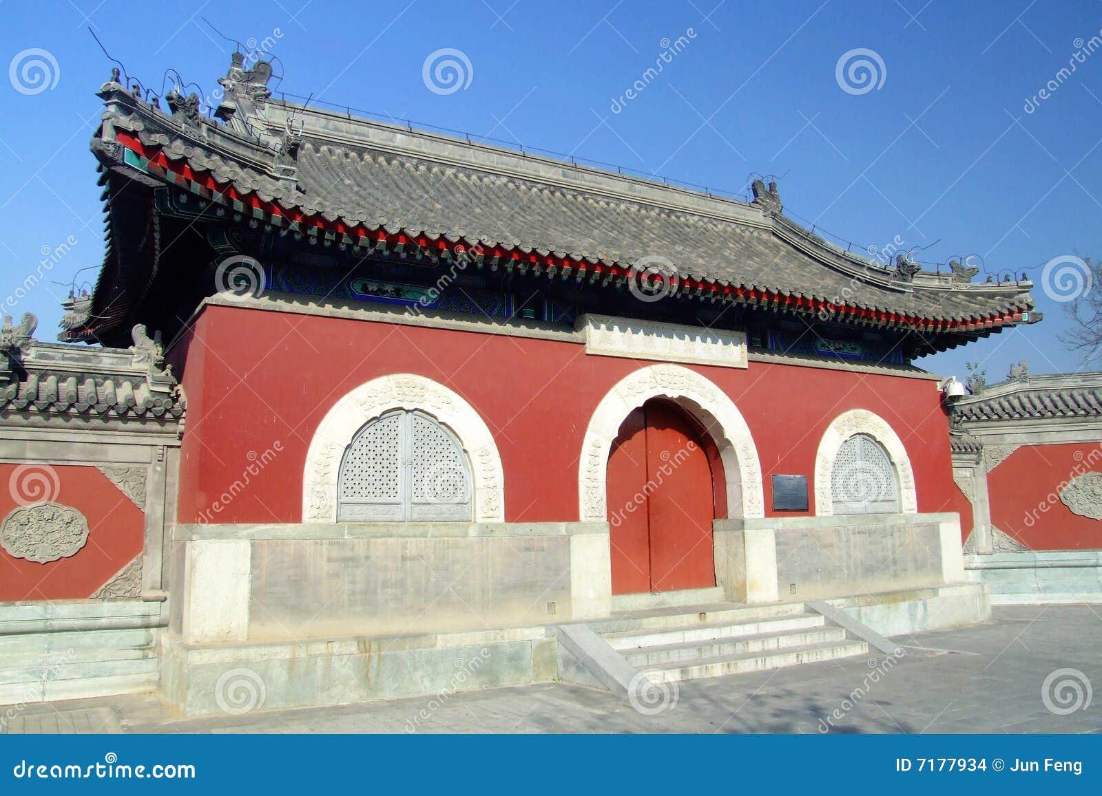 Chinesischer alter Tempel