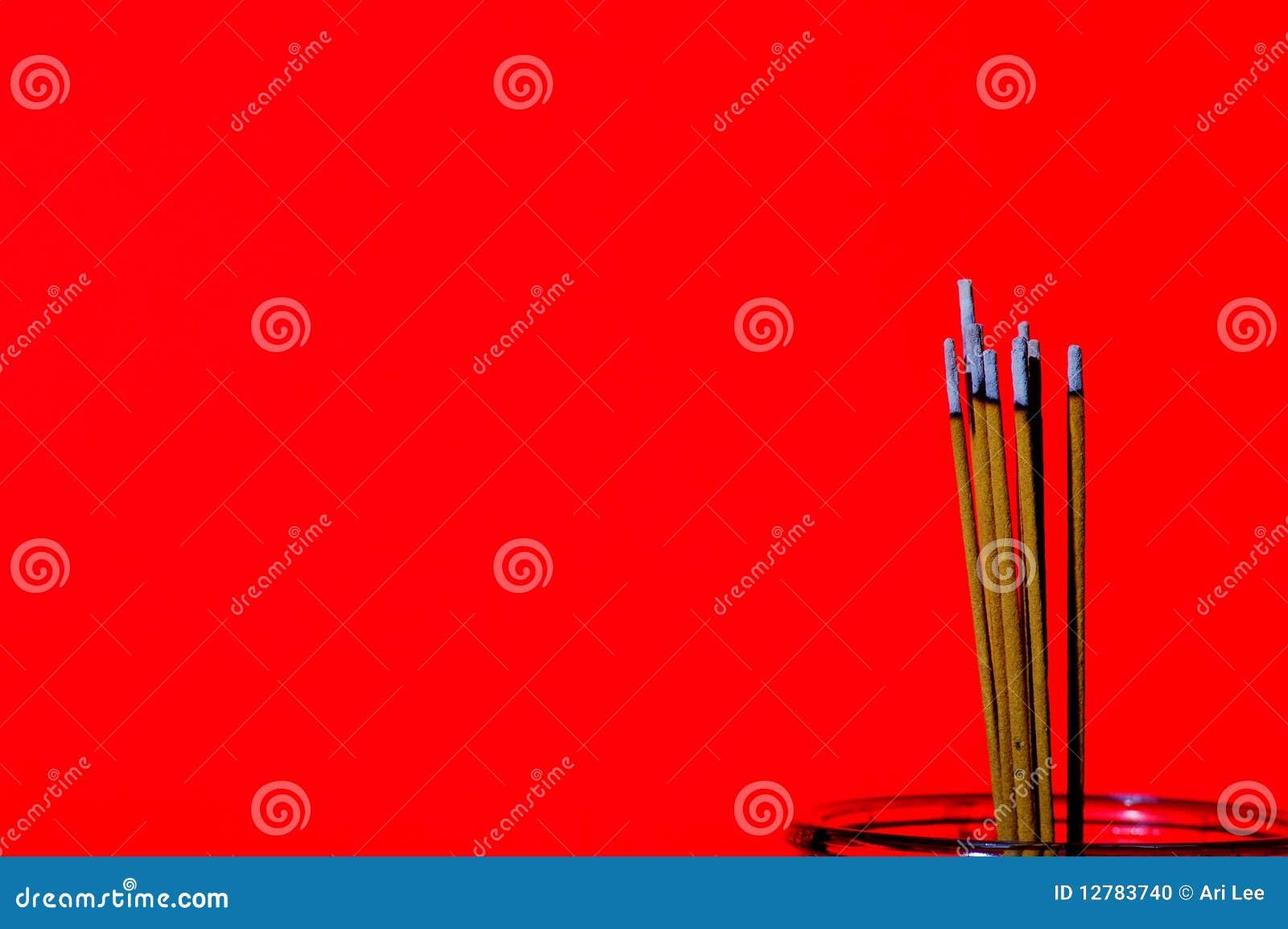 Chinesischer Duft, der für gutes Glück brennt