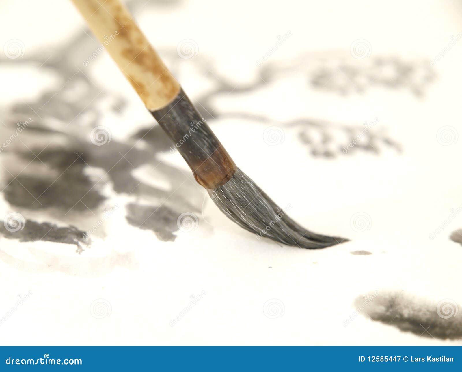 Chinesischer Tinten-Pinsel