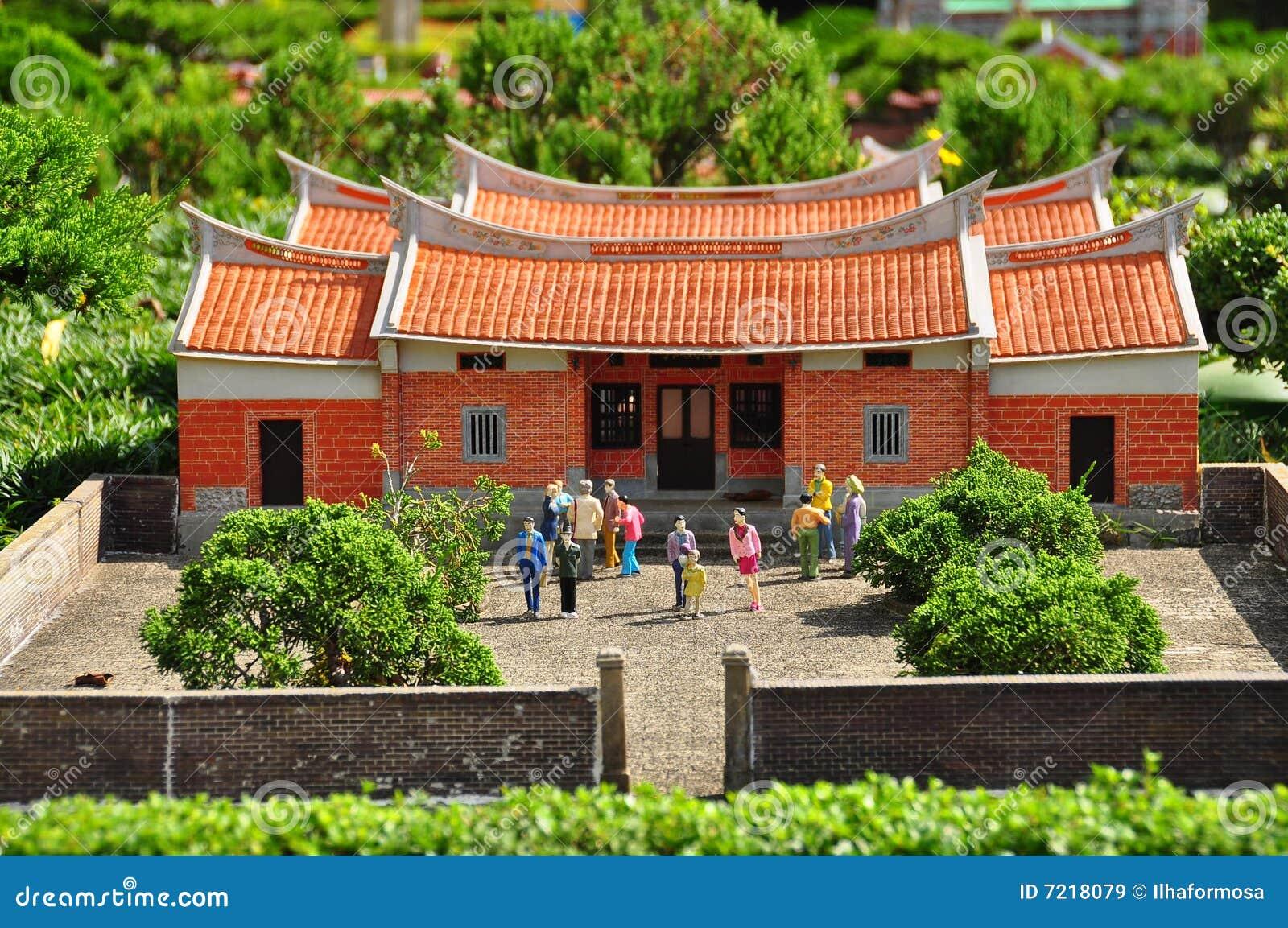 Chinesisches haus lizenzfreie stockbilder bild 7218079 for Traditionelles chinesisches haus