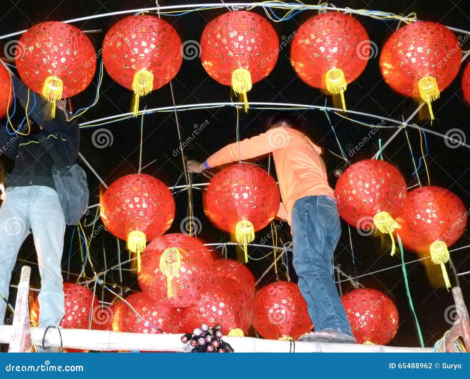 Chinesisches neues Jahr redaktionelles stockfotografie. Bild von ...