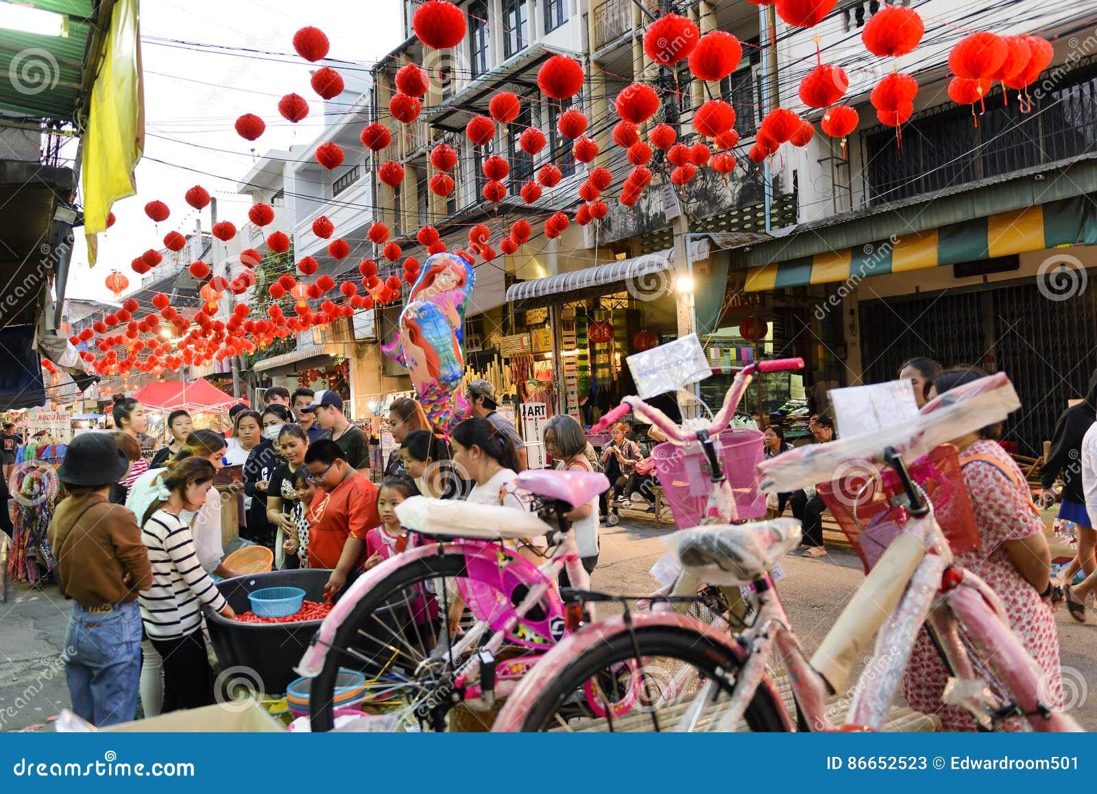 Chinesisches Neues Jahr In Thailand Redaktionelles Stockfoto - Bild ...