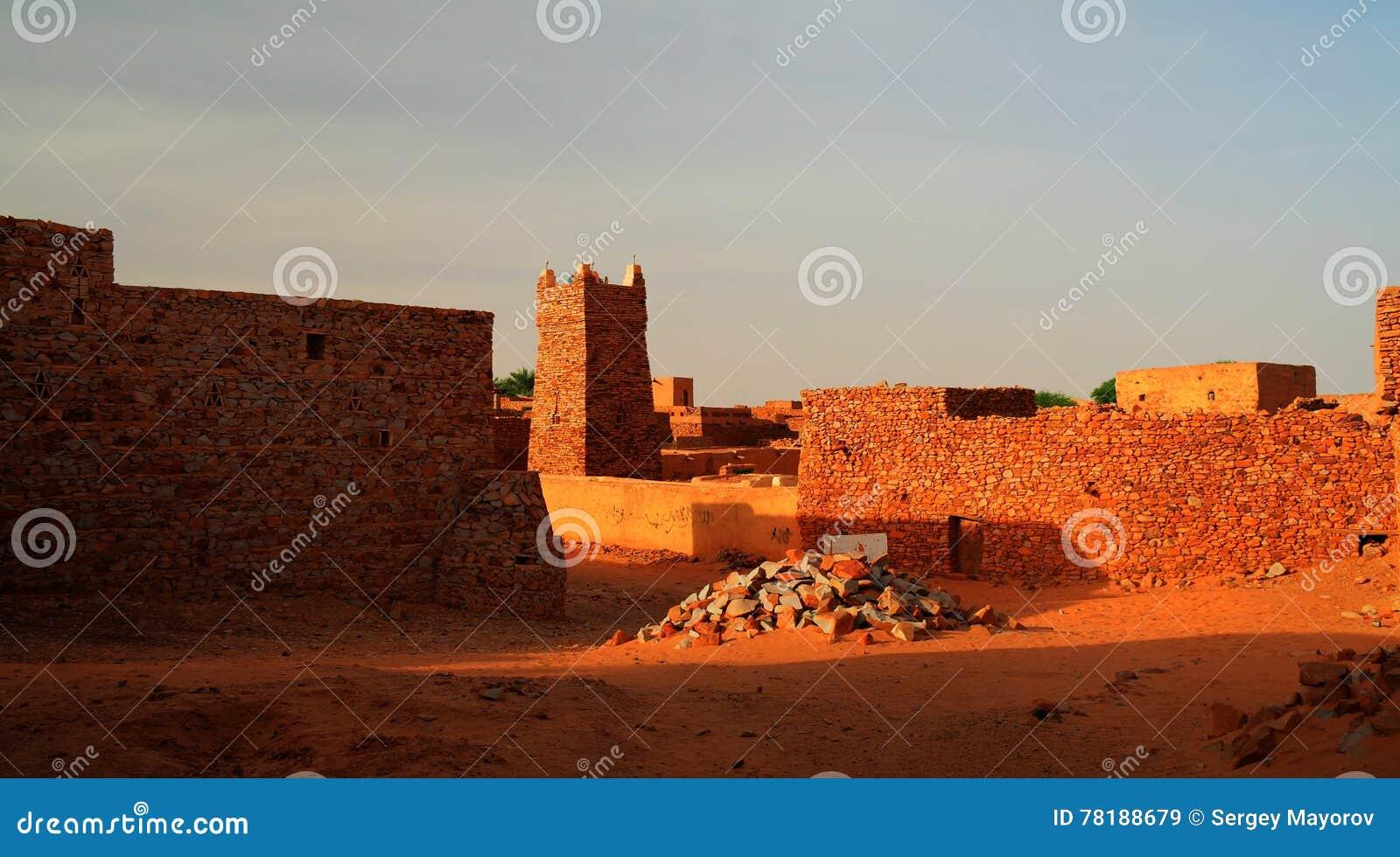 Chinguetti-Moschee, Mauretanien