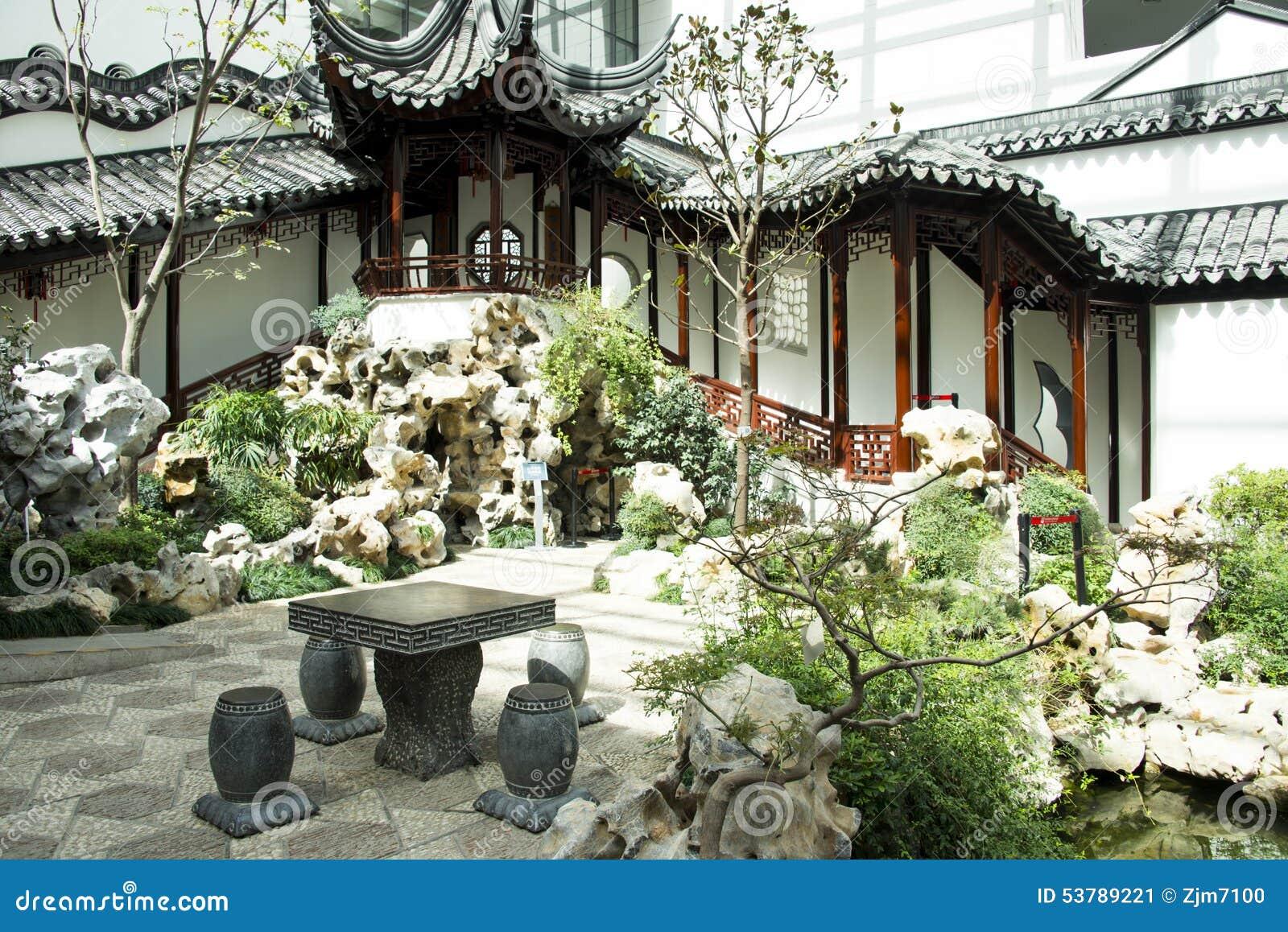 Chino de asia museo del jard n de pek n china patio for Jardin de china