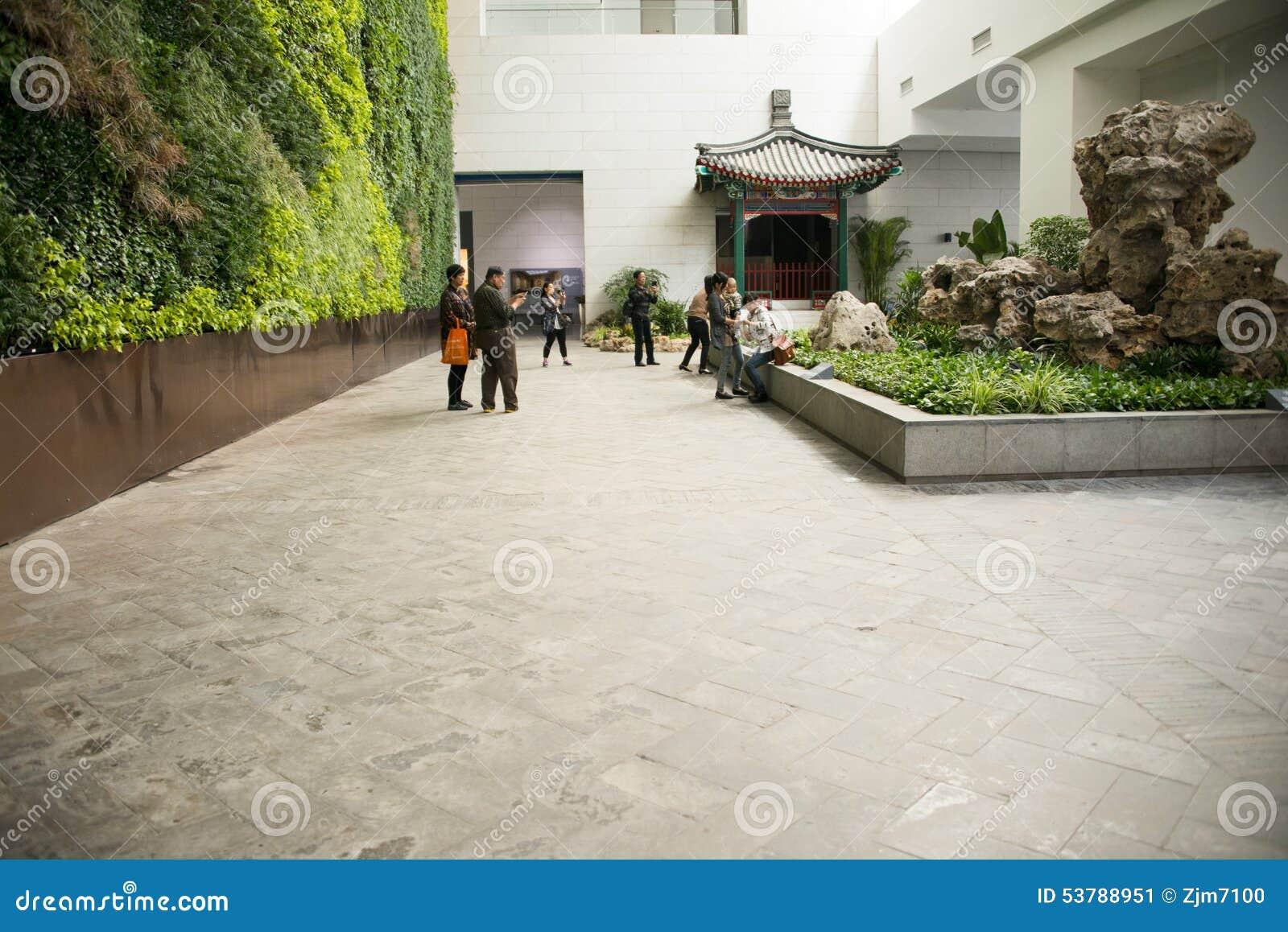 Chino de asia museo del jard n de pek n china sala de for Jardin de china