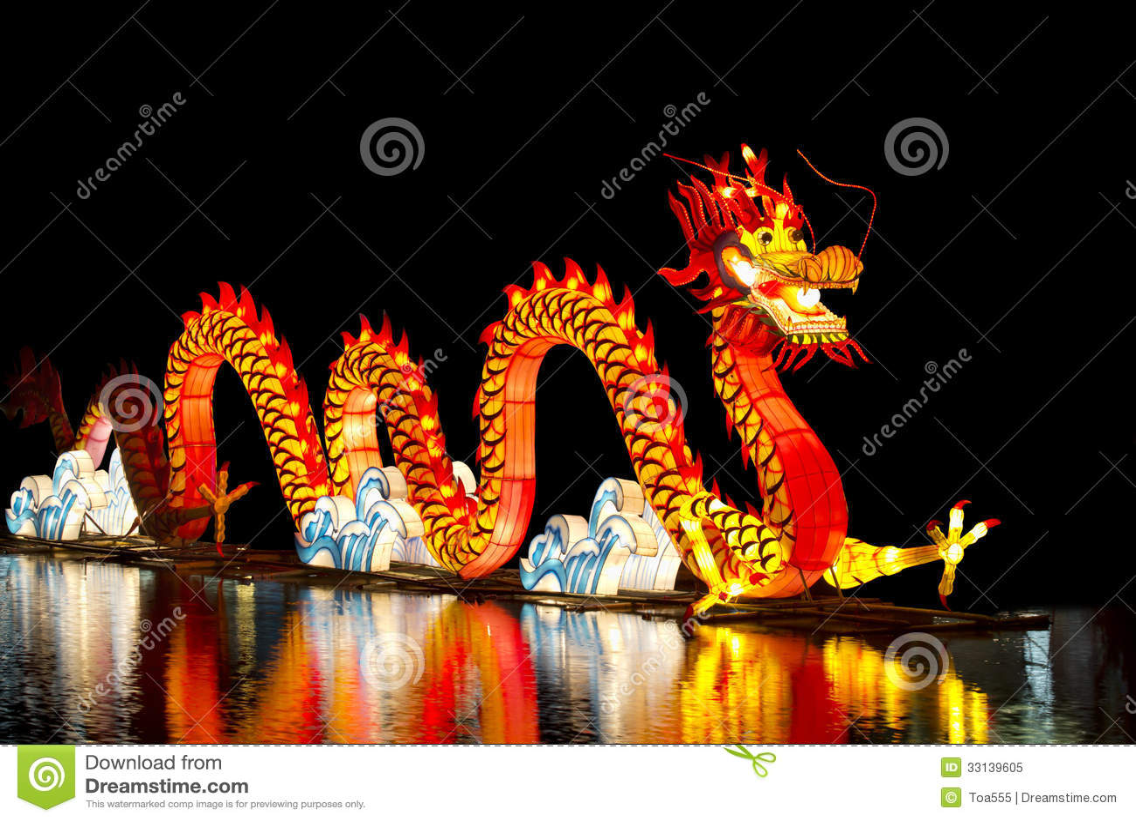 Chino Dragon Lantern