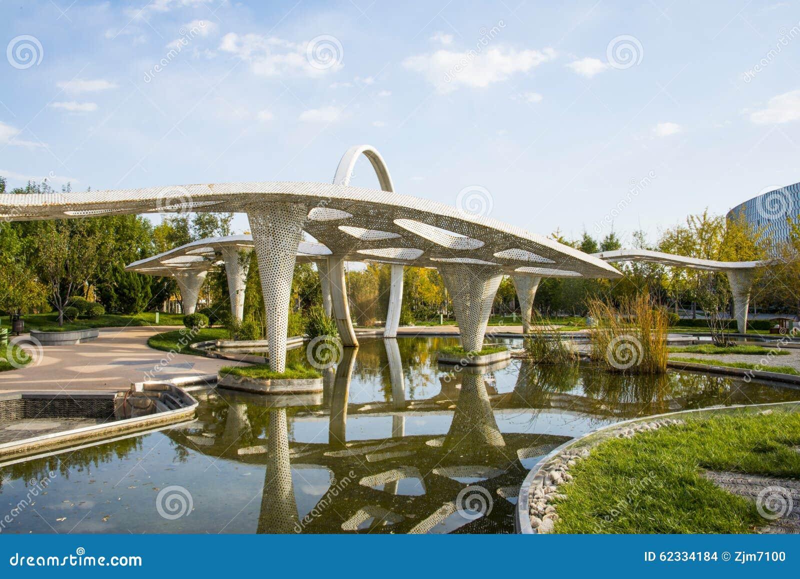 Chinois de l 39 asie p kin expo de jardin architecture de for Architecture de jardin