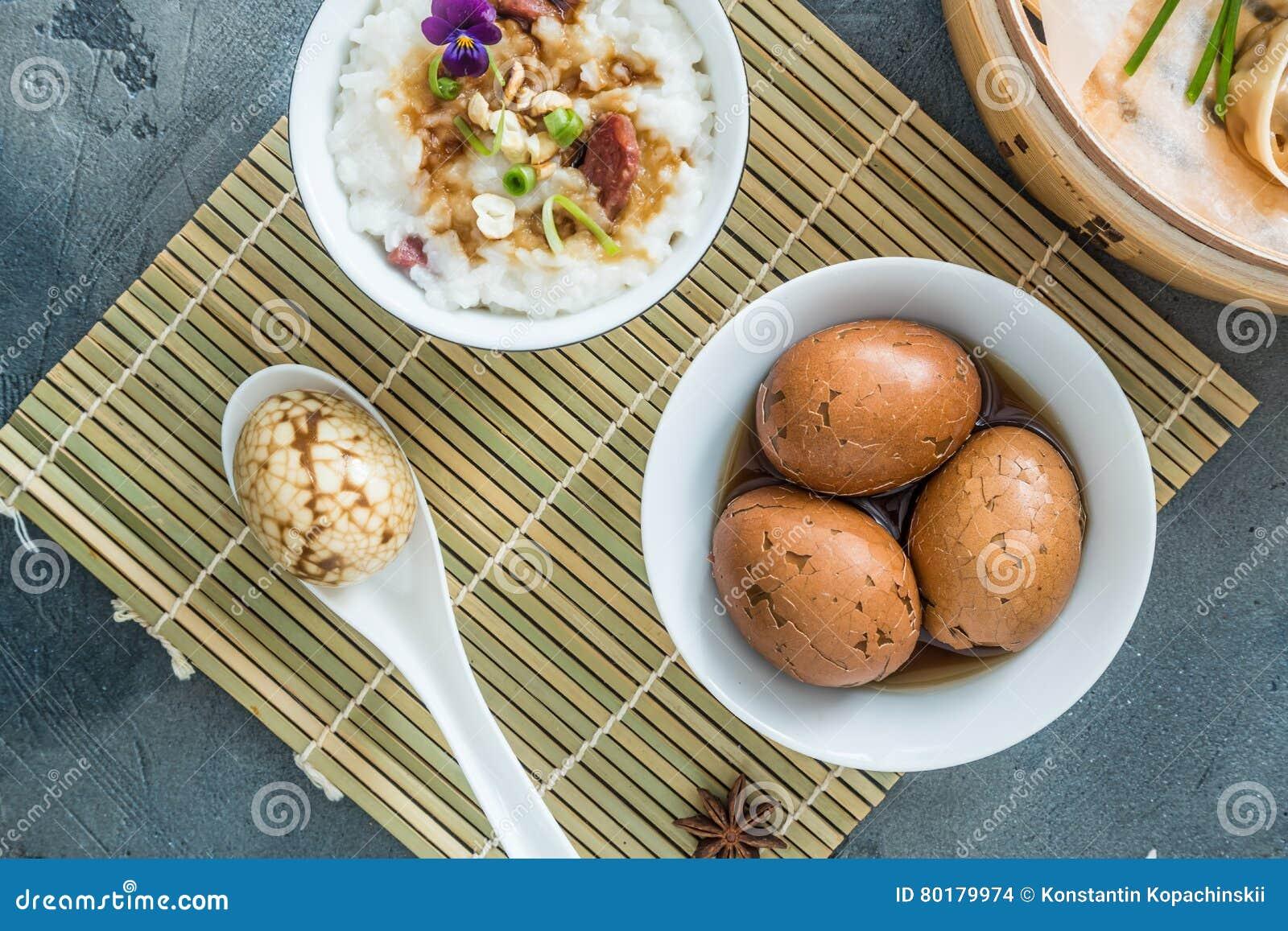 Chinois dur écossé marbré ou oeufs de thé