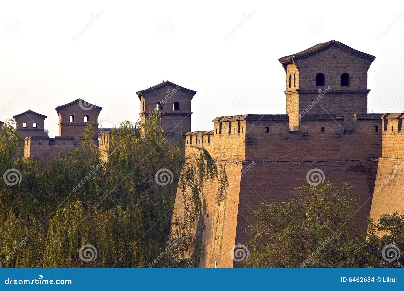 Chiny miasta pradawnych do ściany