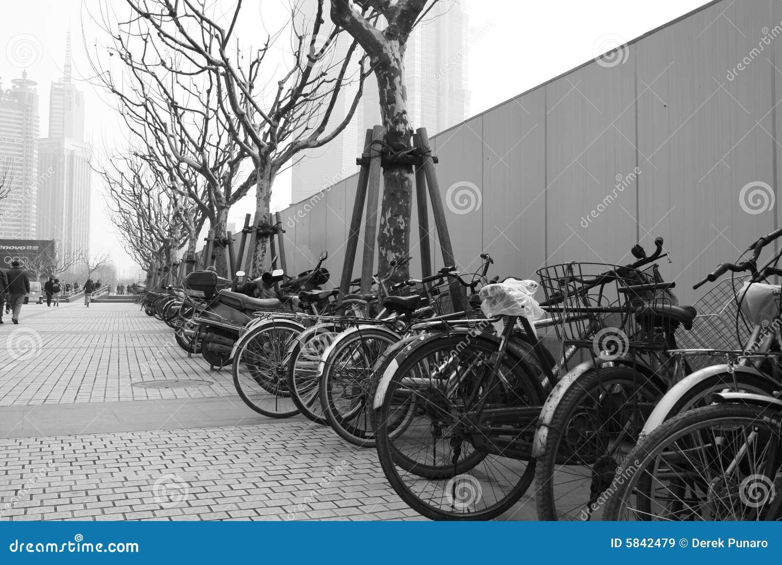 Chiny roweru stary zanieczyszczone