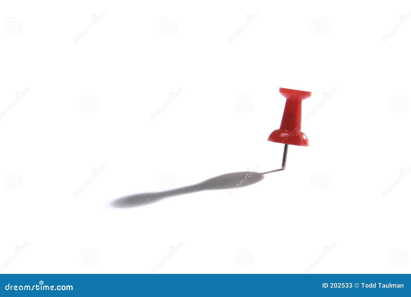 Chiodo a testa piatta rosso