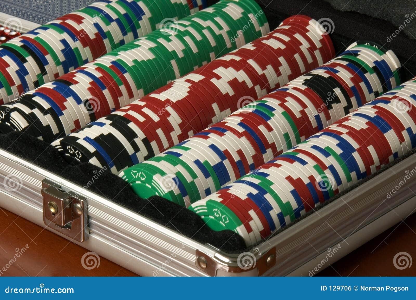 Chip w pokera.