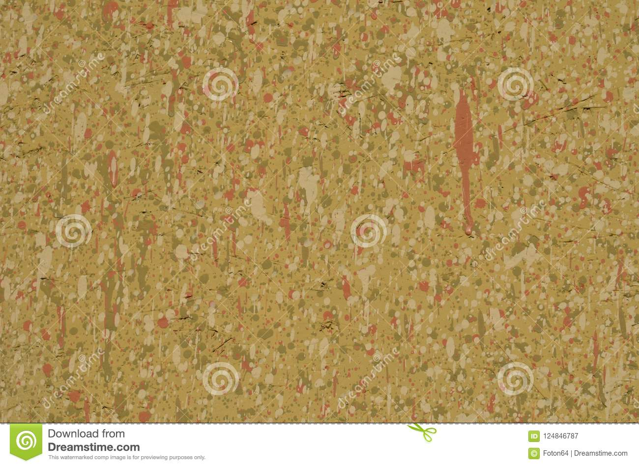 7a1659582500 Chipboard Full Of Leaking Paint Spots Stock Image - Image of leak ...