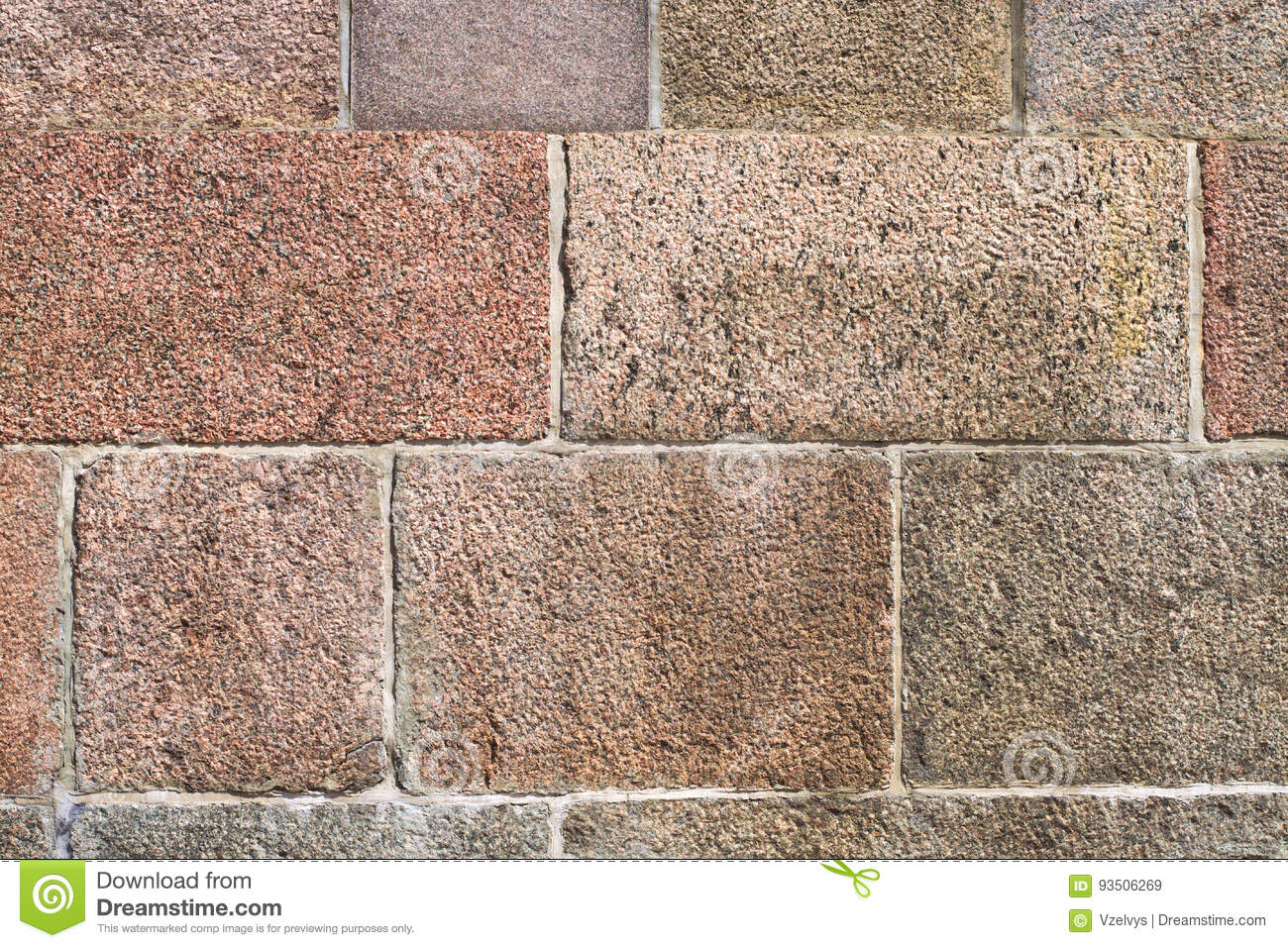 Chipped stone wall background
