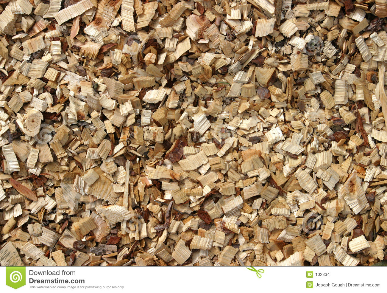 Chippings de madeira