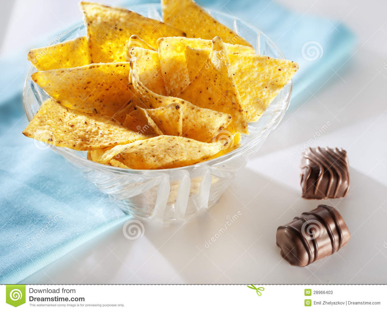 Chips and chocolates