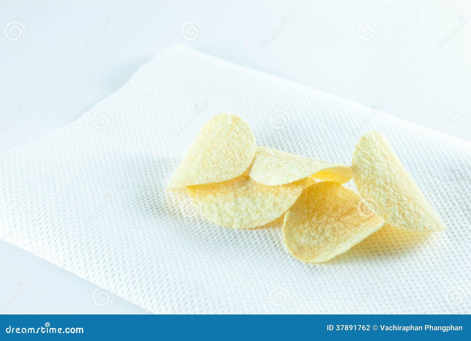 Chips op weefsel.