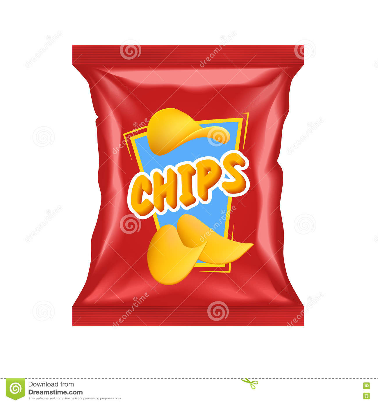 Chips Package réaliste