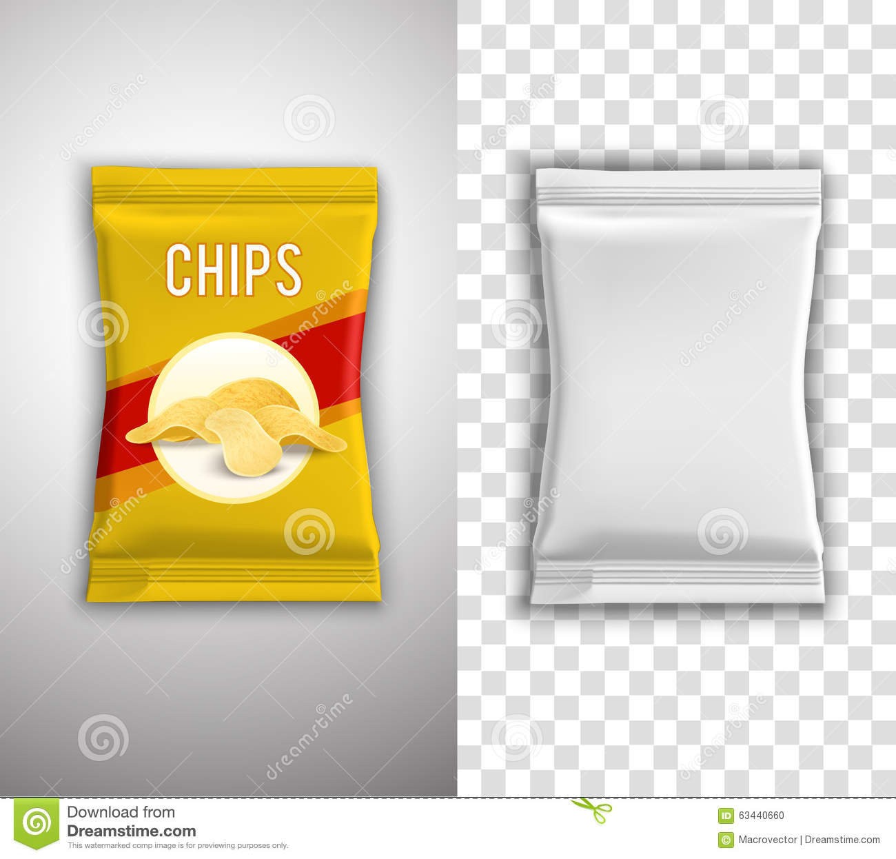 chips packaging design stock vector illustration of decorative