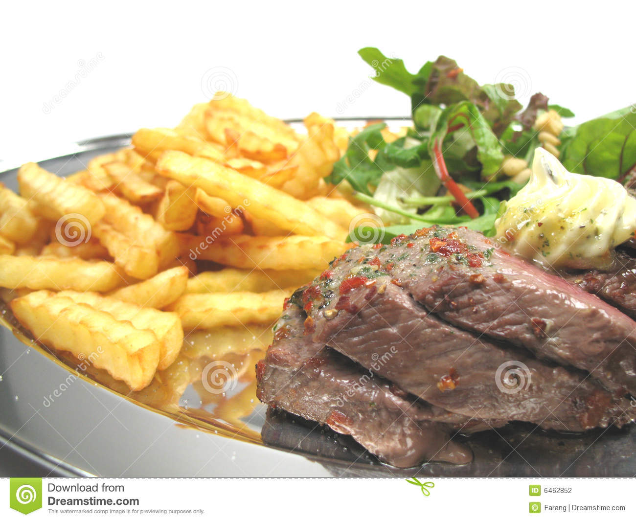 Chips steak