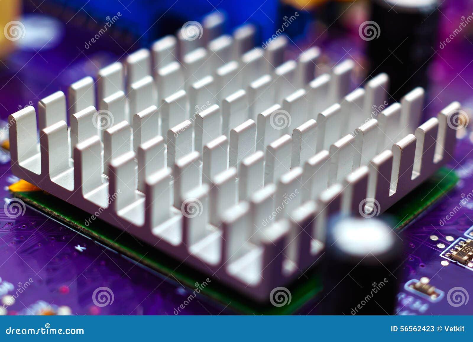 Download Chipset heatsink στοκ εικόνα. εικόνα από αποχής, καρδιά - 56562423