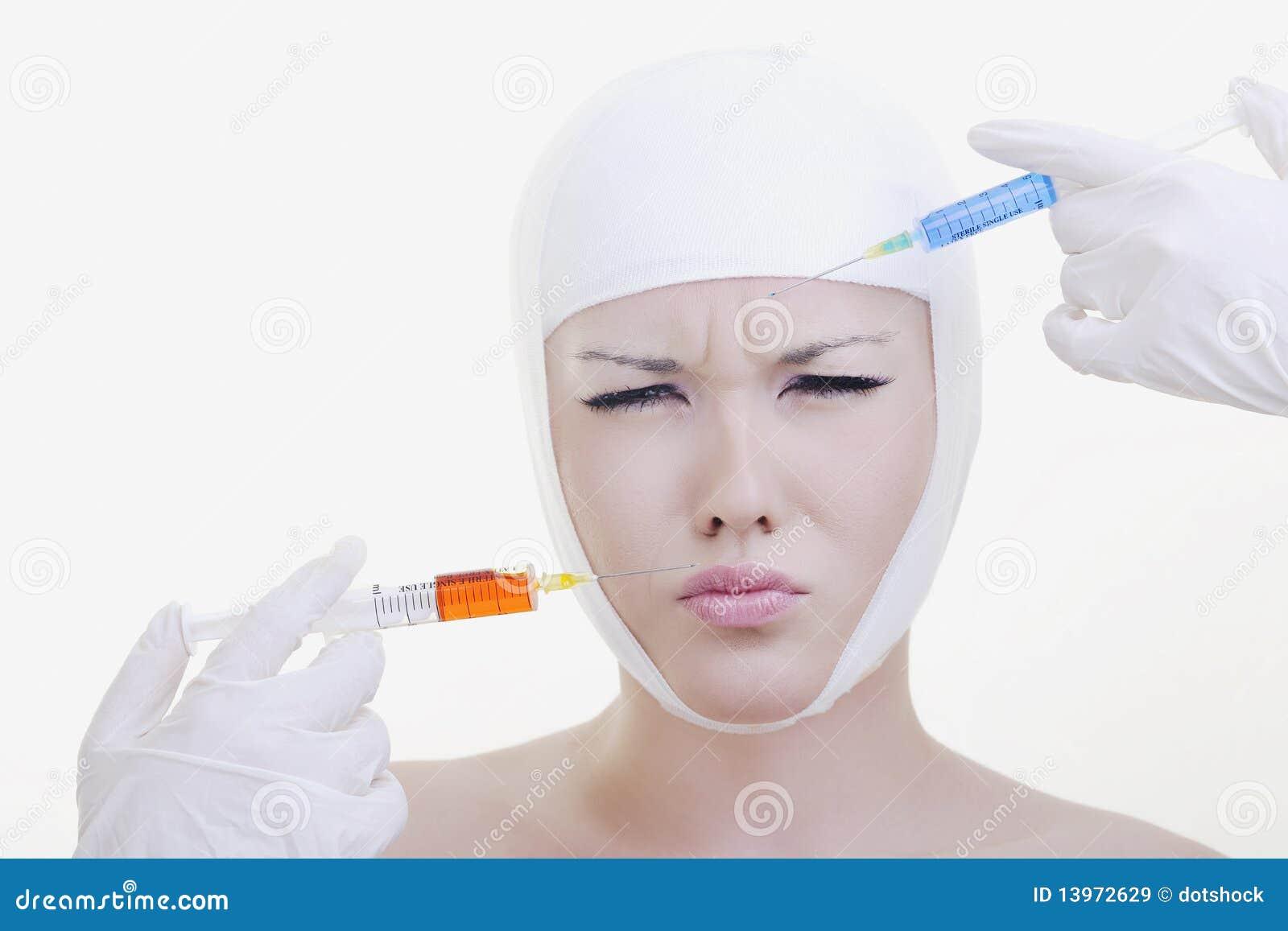 Vitamina C di ringiovanimento di faccia