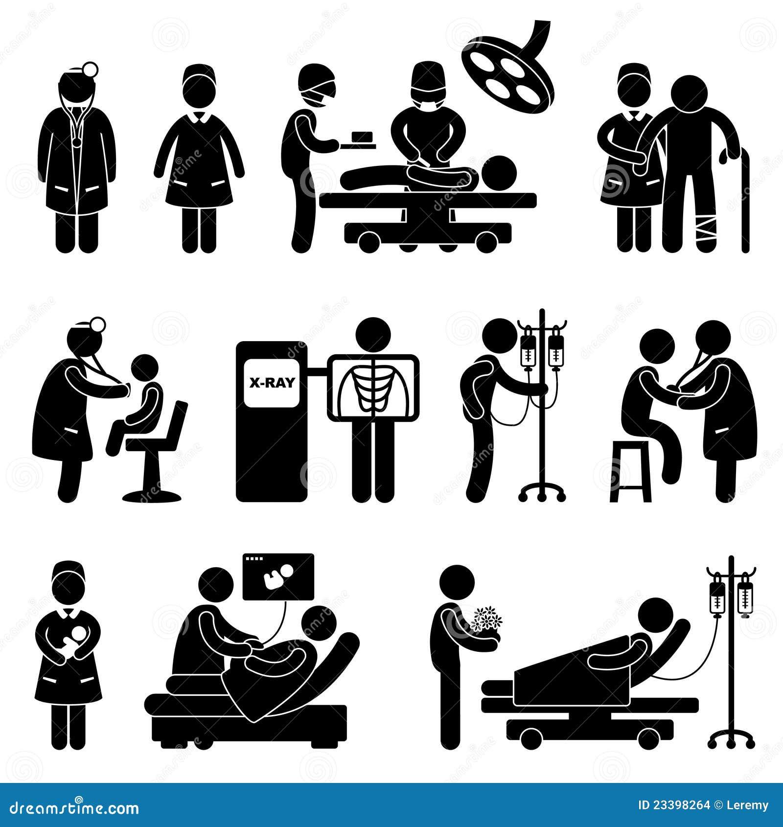 Chirurgie des Doktor-Nurse Hospital Clinic Medical