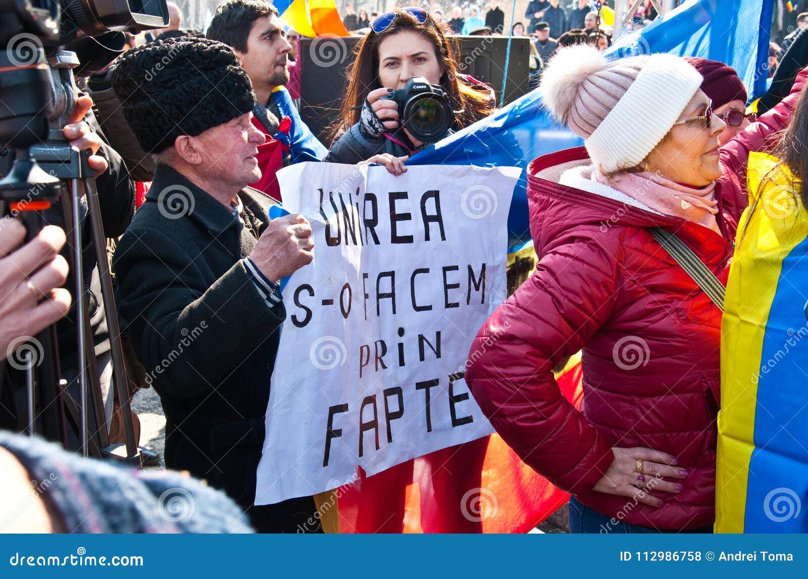 Chisinau, Republic of Moldova, March, 25th, 2018, Great Centenary Assembly