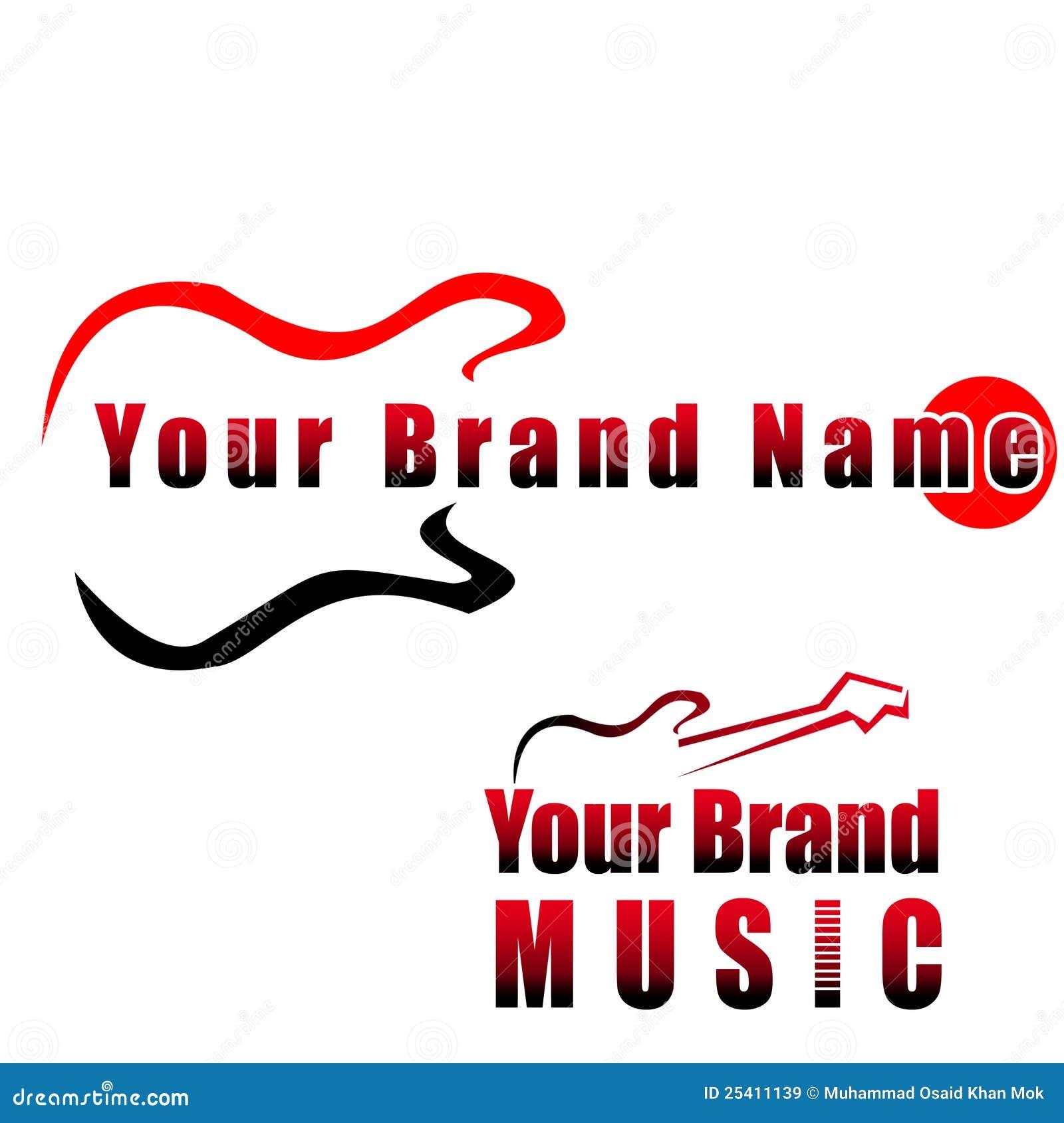Chitarra Marchio Compay Di Musica Illustrazione Di Stock