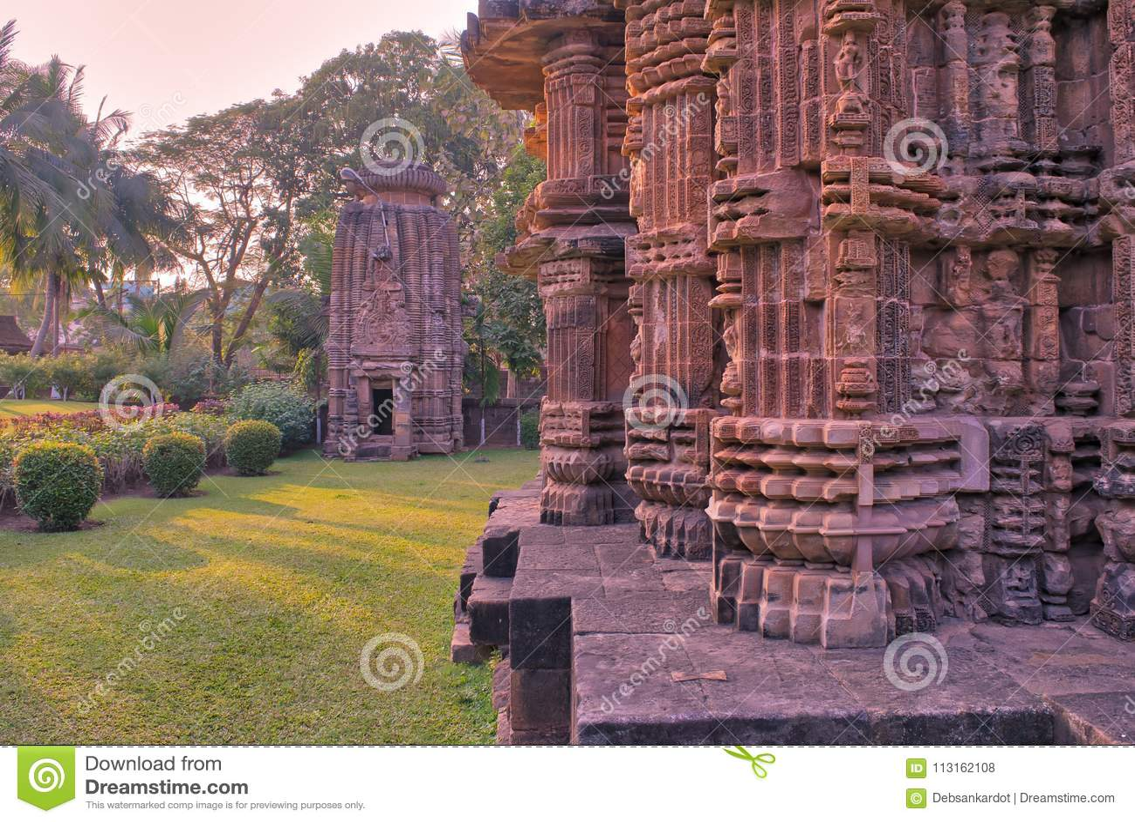 Chitrakarini Bhubaneswar Odisha India Świątynna Hinduska religia