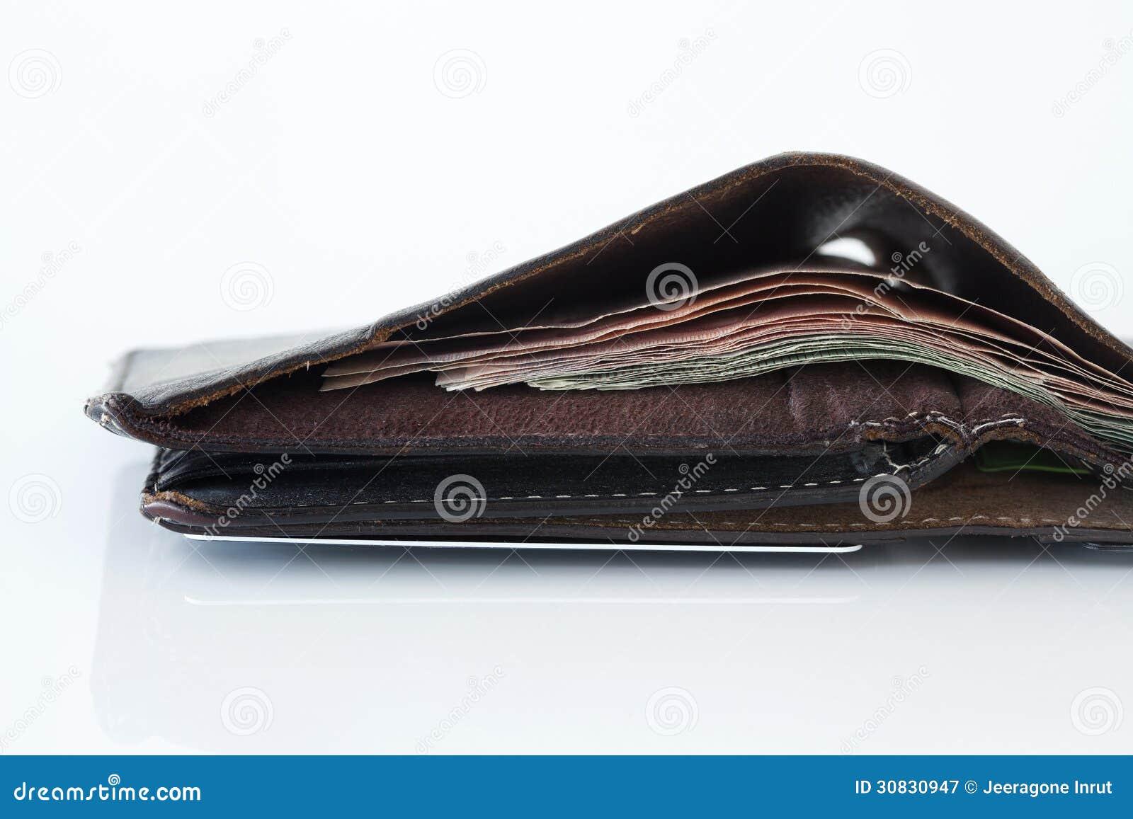 Chiuda su di un portafoglio