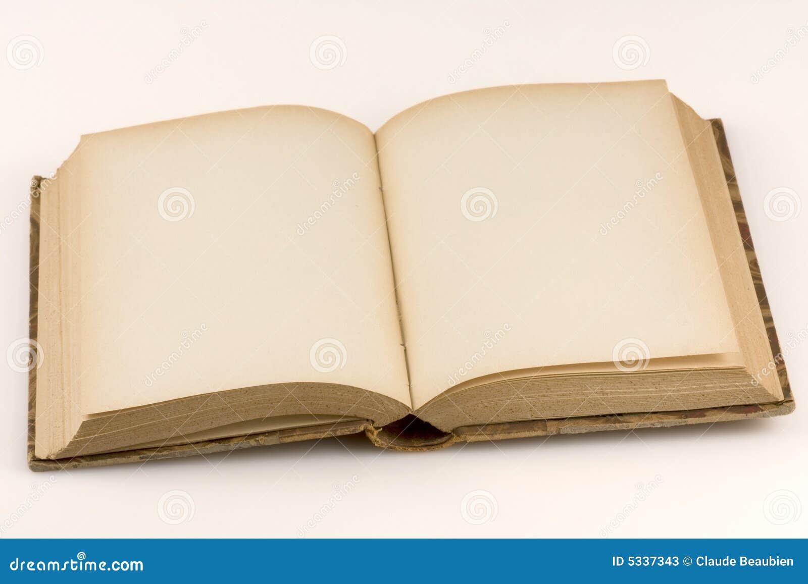 Chiuda sul colpo di un libro antico aperto immagine stock for Foto di un libro
