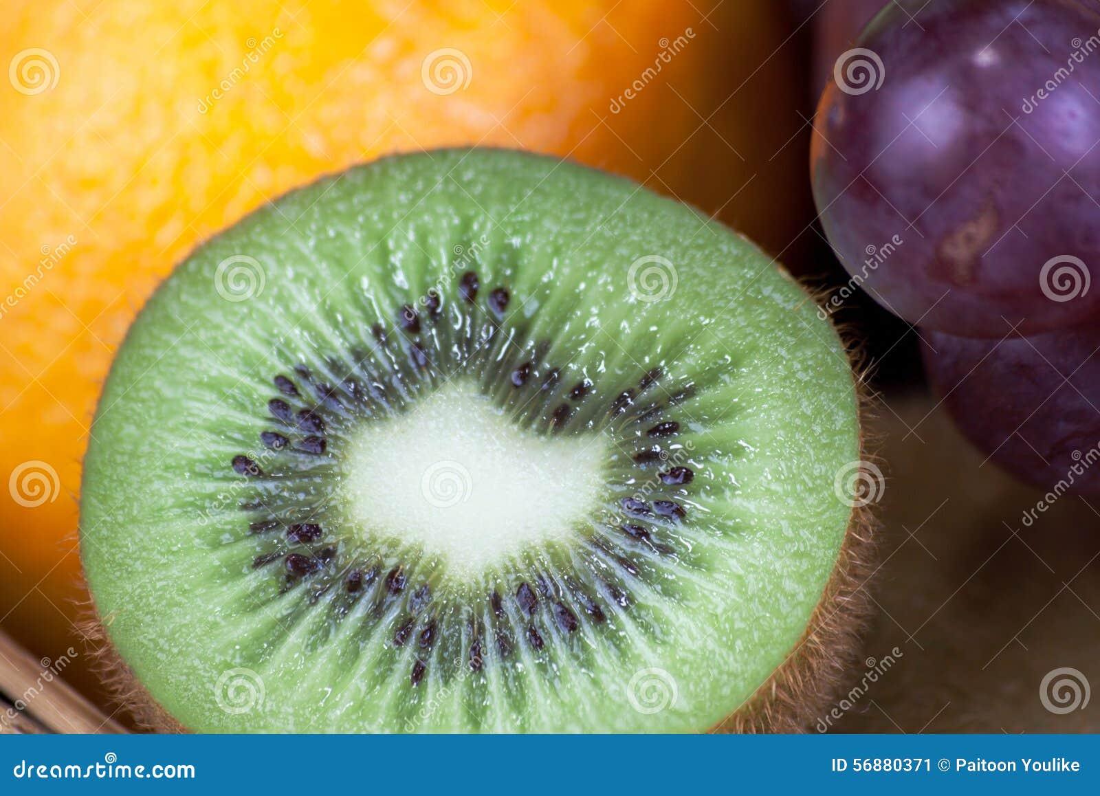 Chiuda sul kiwi