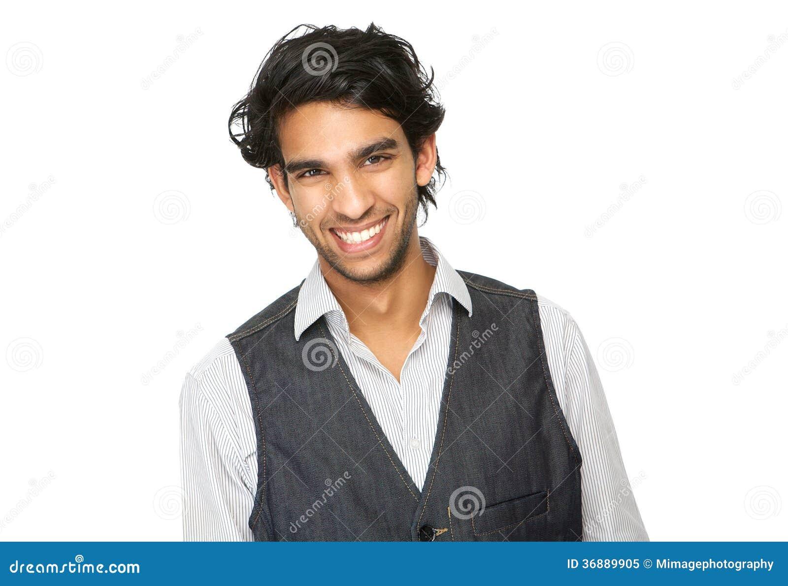 Download Chiuda Sul Ritratto Di Una Risata Del Giovane Immagine Stock - Immagine di faccia, sicuro: 36889905