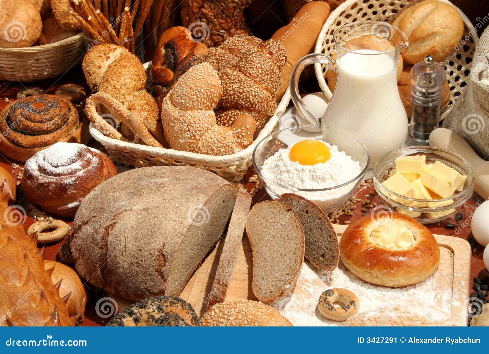 Chleb jajko mąkę mleko