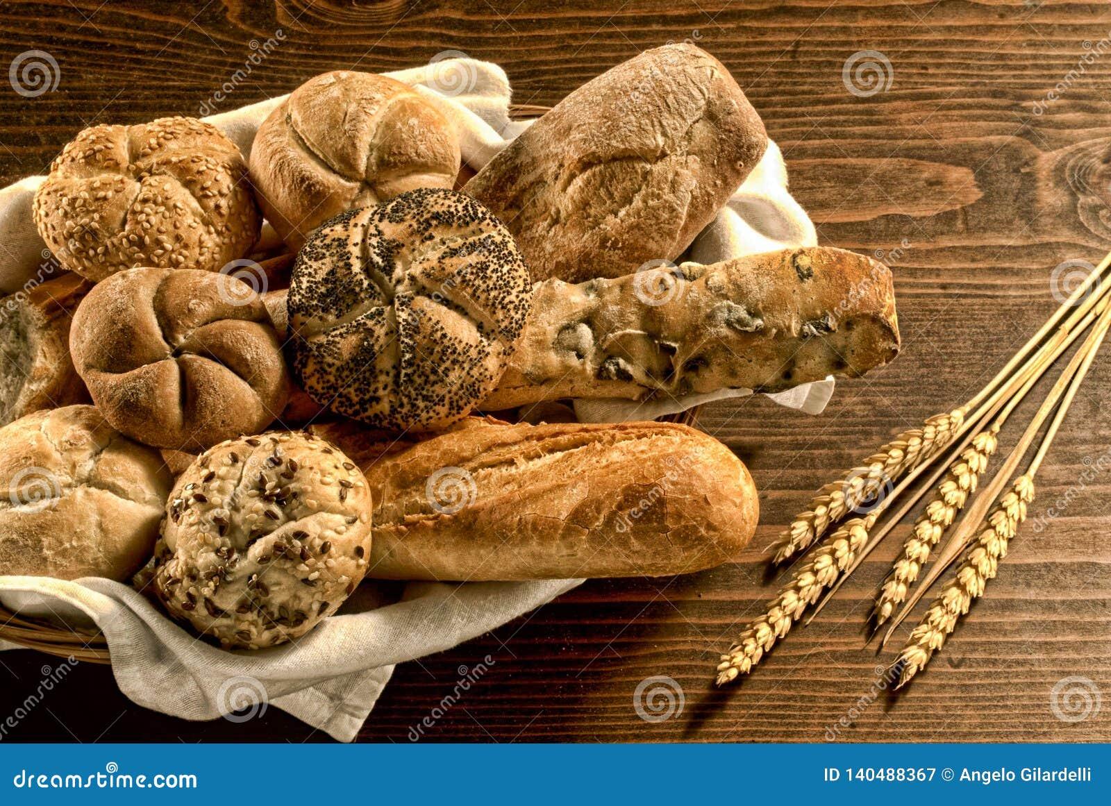 Chleb, mieszanka na bielu