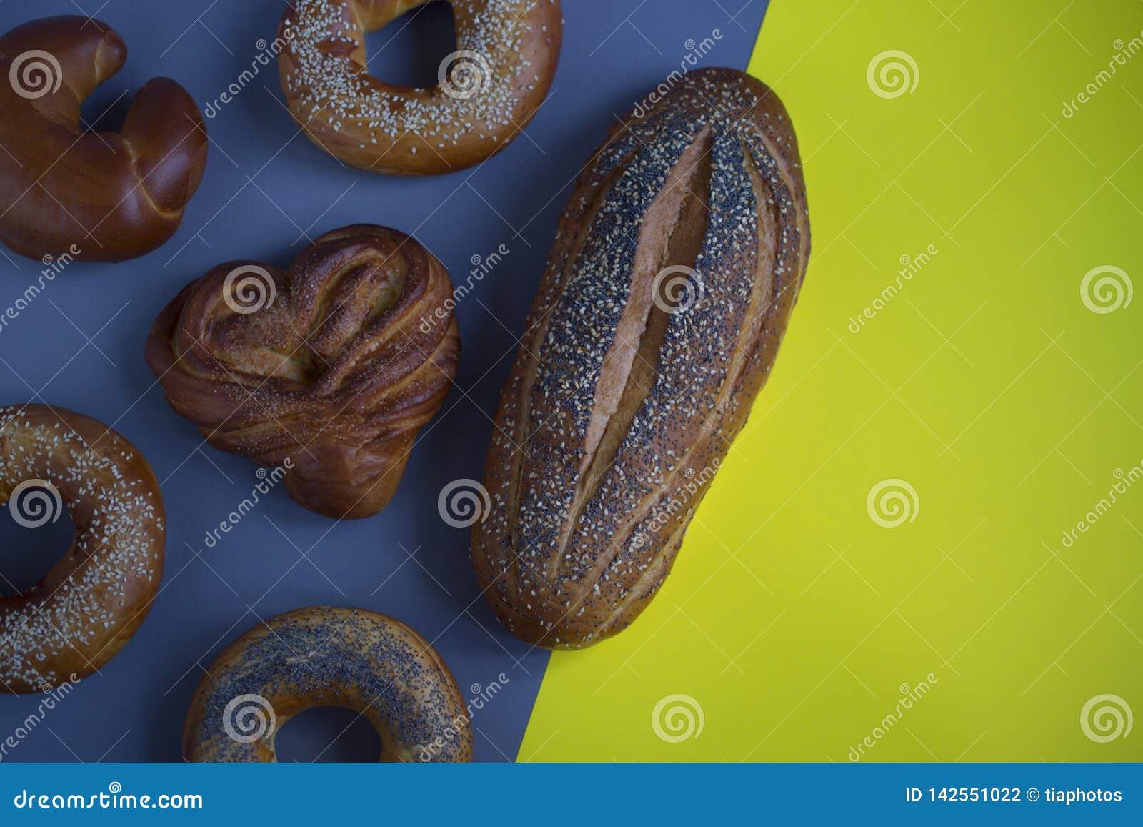Chleb na tle