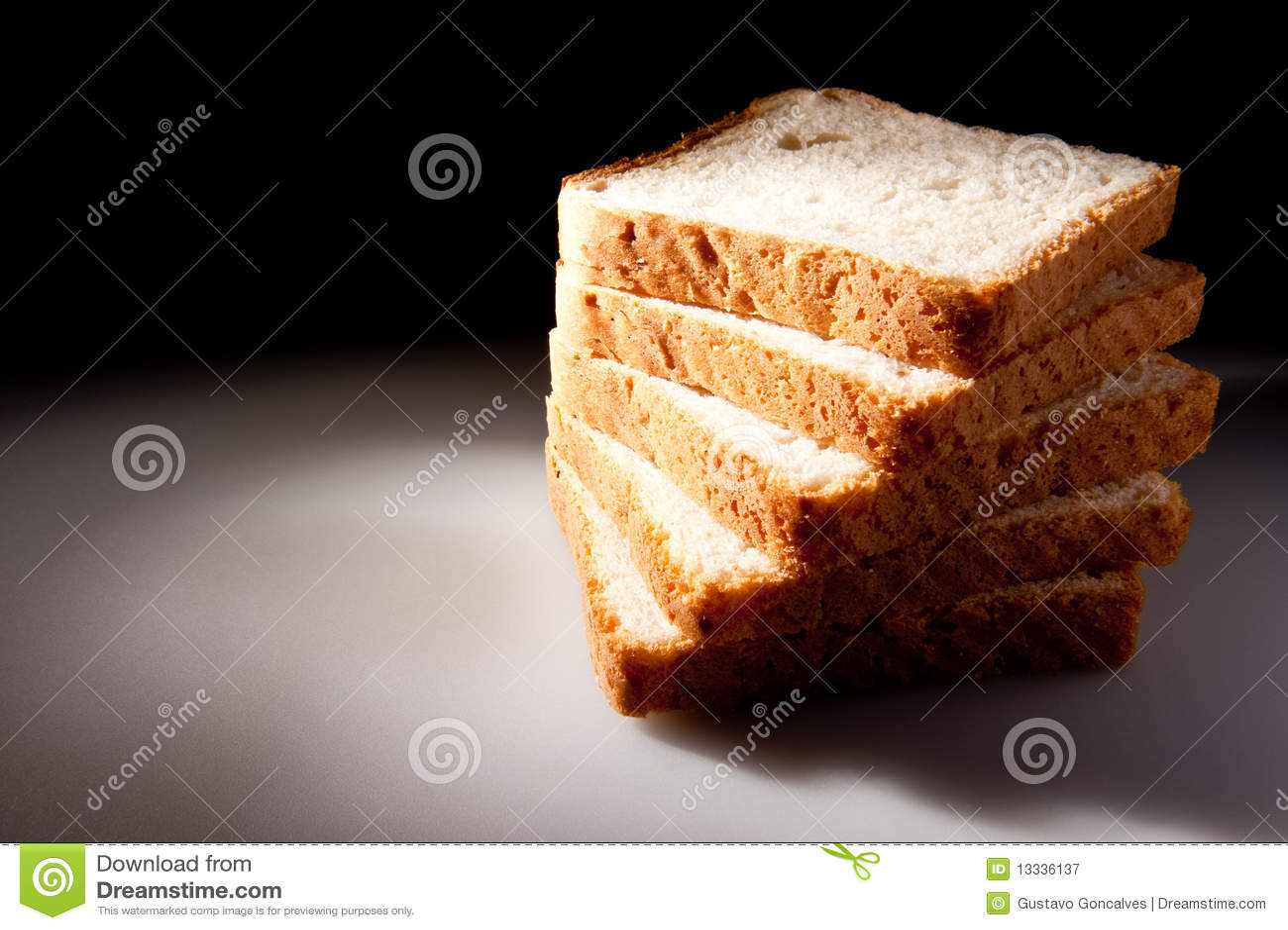 Chleb pokrajać biel