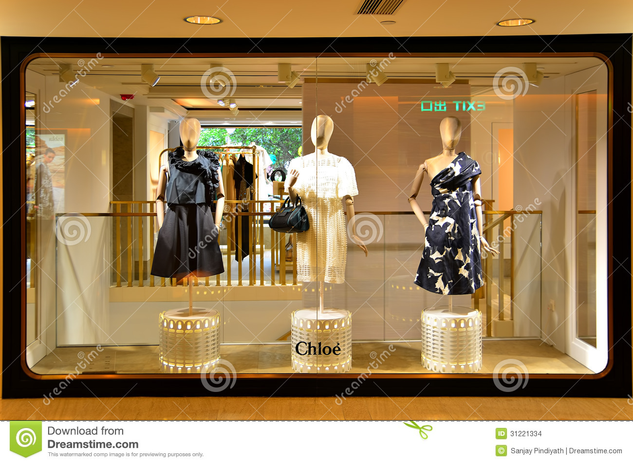 Chloe retail outlet editorial stock image. Image of purchase - 31221334 18fc03533